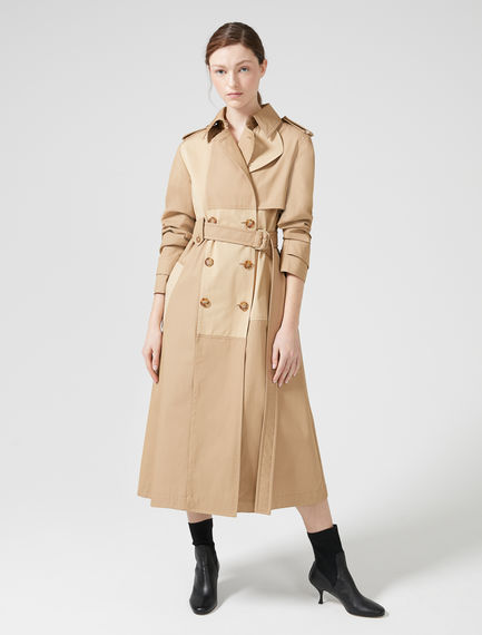 Patchwork Water-Repellent Trench Sportmax