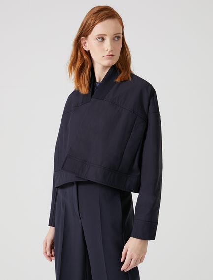 Cropped Kimono-Bomber Jacket Sportmax