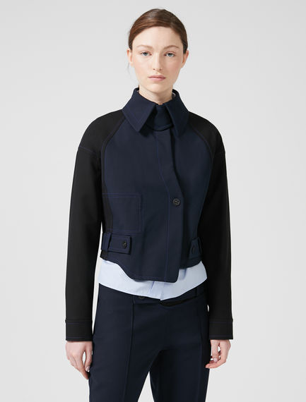Asymmetric Cut Box Jacket Sportmax
