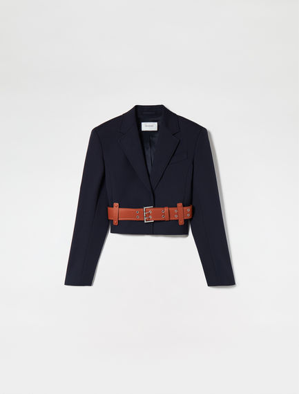 Belted & Tailored Jacket