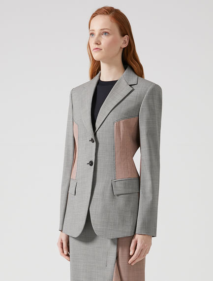 Check Panel Dinner Jacket Sportmax