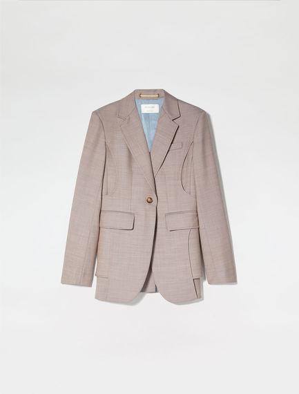 Tailored Wool Jacket