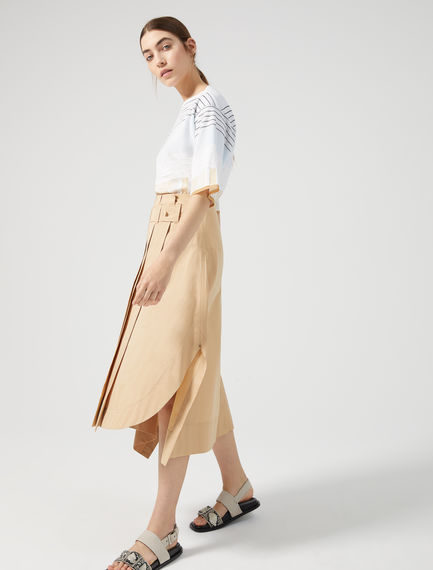 Asymmetric Wrap Skirt Sportmax