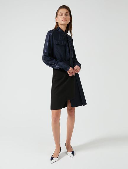 Cotton Saddle Skirt Sportmax
