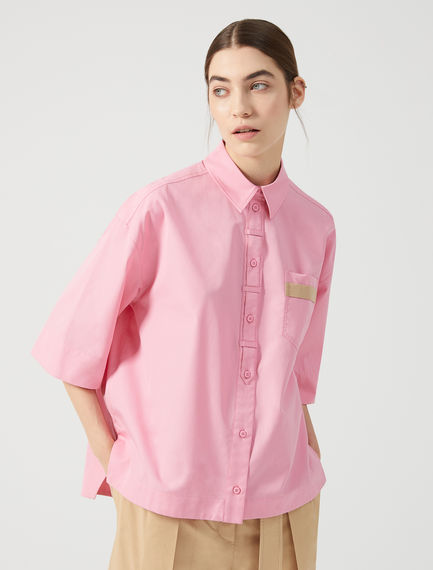 Camicia over in cotone Sportmax