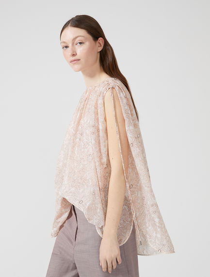 Sleeveless Chiffon Blouse Sportmax