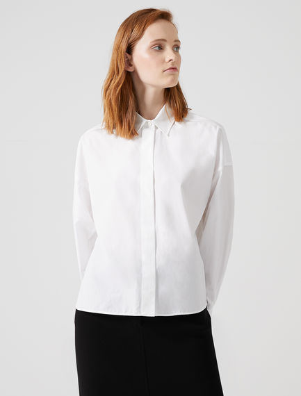 Cotton Aviator Shirt Sportmax