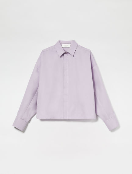 Cotton Aviator Shirt
