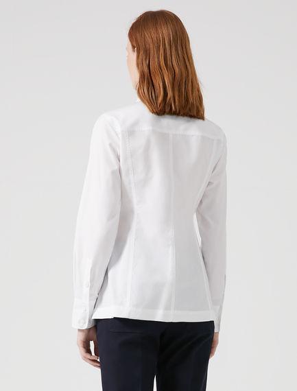 Structured Seam Poplin Shirt