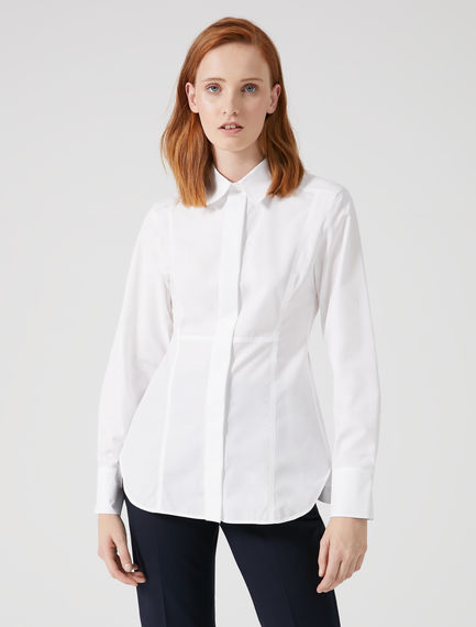 Structured Seam Poplin Shirt Sportmax