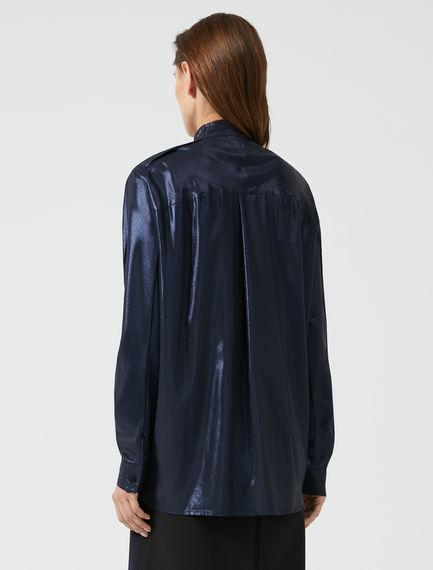 Glossy Crêpe Disco Shirt