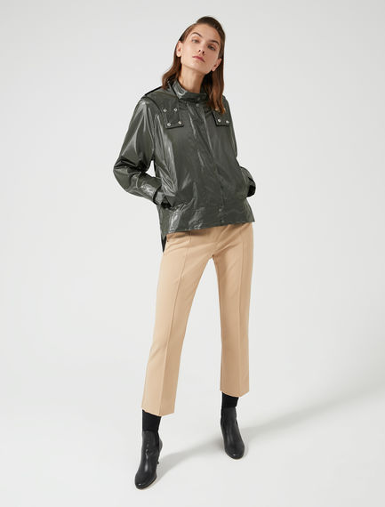 Ankle Crop Cotton Trousers Sportmax