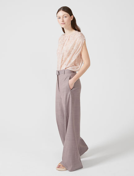 Semi-flare Wool Trousers Sportmax