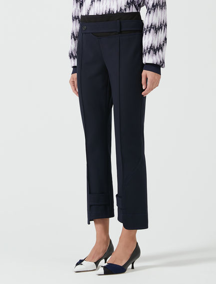 Athleisure Tab Trousers