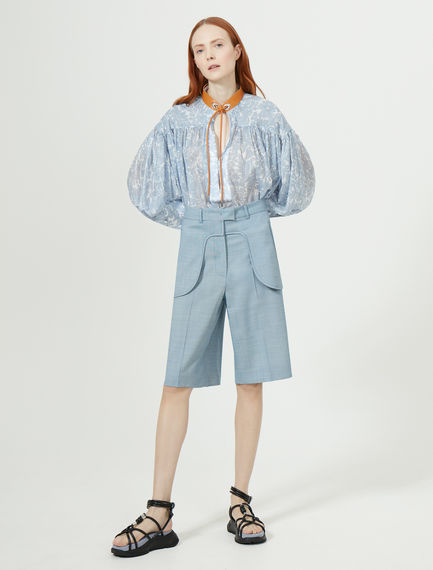 Tailored Wool Shorts Sportmax
