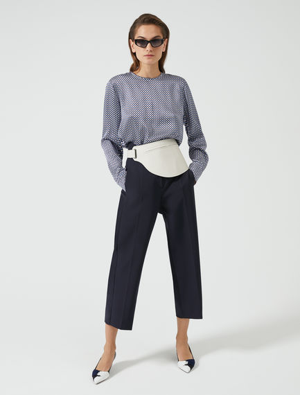 Double-Banded Culottes