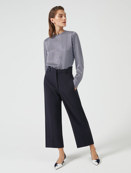 Double-Banded Culottes Sportmax