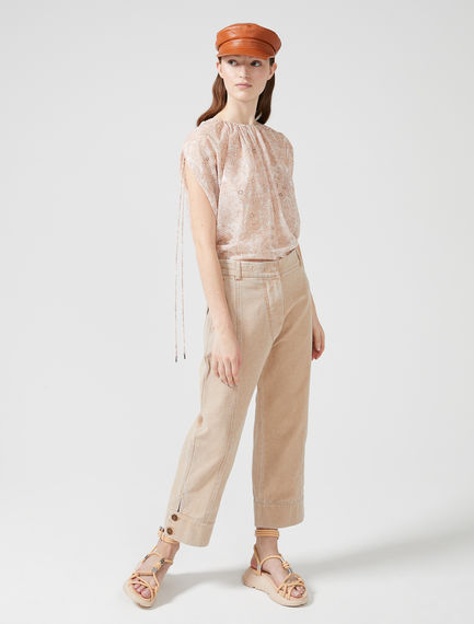 Button Ankle Chinos Sportmax