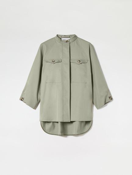 Cotton Gabardine Cadet Shirt