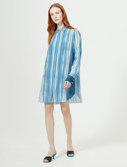 Blurred Stripe Tunic Shirt Sportmax