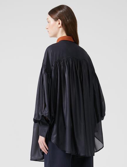 Blusa trasformabile in chiffon