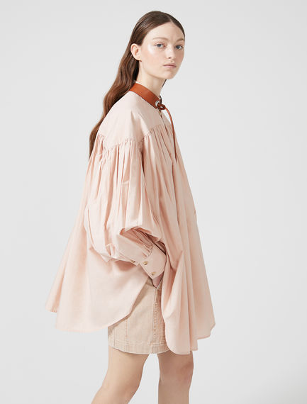 Gathered Poplin Shirt Sportmax