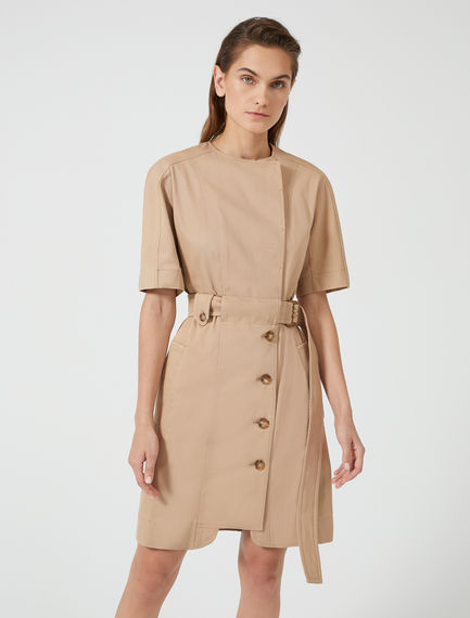 Trench-Inspired Cotton Shirtdress Sportmax