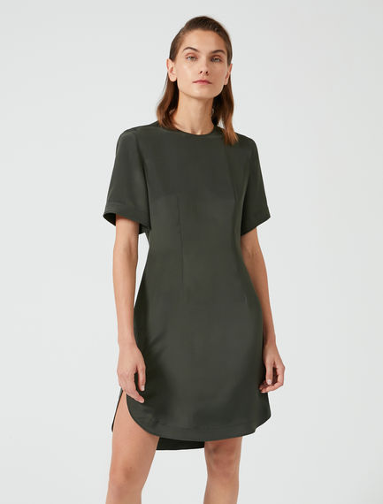 Belt Bag Silk T-Shirt Dress Sportmax