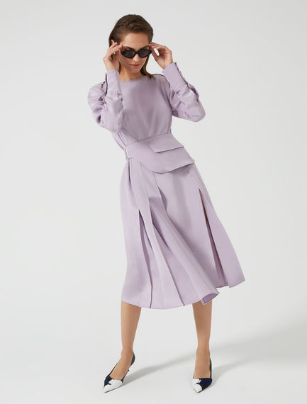 Belt Bag Silk Pleat Dress Sportmax