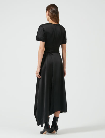 Lustrous Satin Flared Dress Sportmax