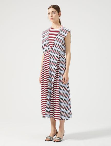 Multi-Stripe Sailor Dress