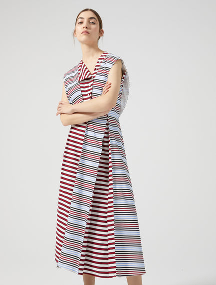 Multi-Stripe Sailor Dress Sportmax