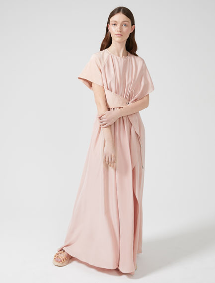 Streaming Silk Short-sleeve Dress Sportmax