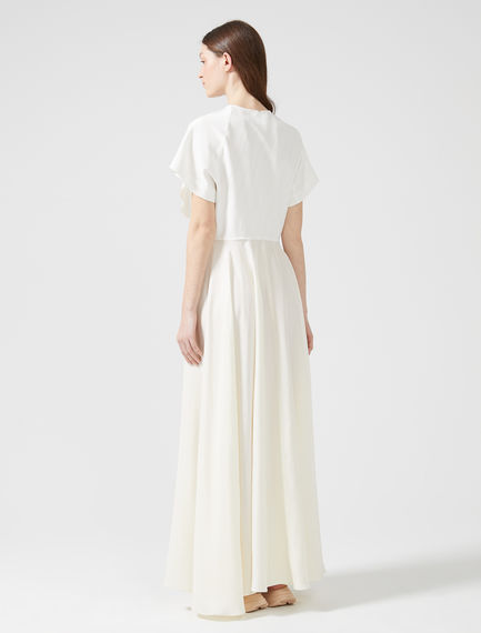 Streaming Silk Short-sleeve Dress
