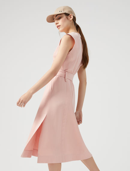 Streamlined Satin Dress Sportmax