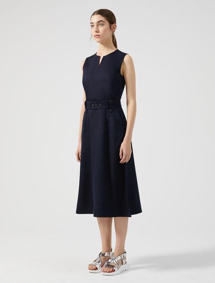 Streamlined Satin Dress