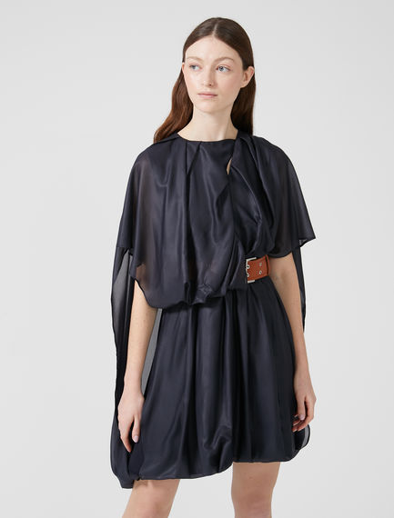 Belted Chiffon Dress Sportmax