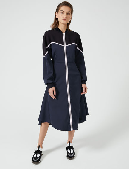 High-Performance Athletic Midi Dress Sportmax