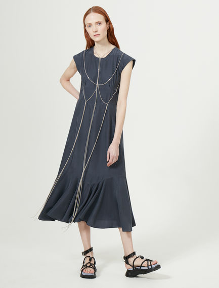 Silk Chain Dress Sportmax