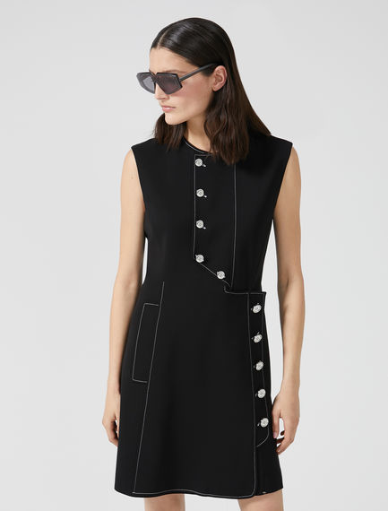 Button Front Tunic Dress Sportmax