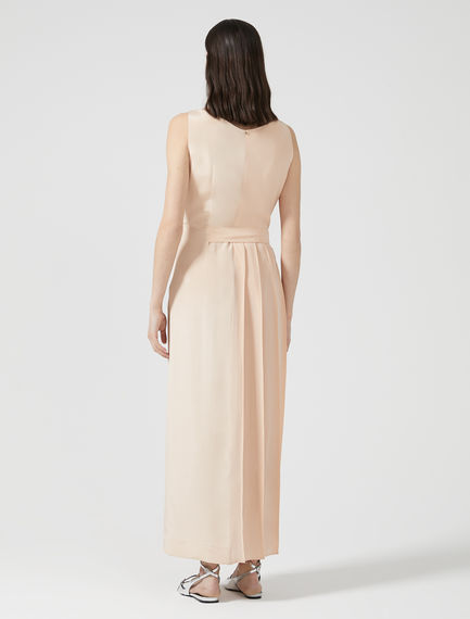 Sleeveless Silk Crêpe Dress