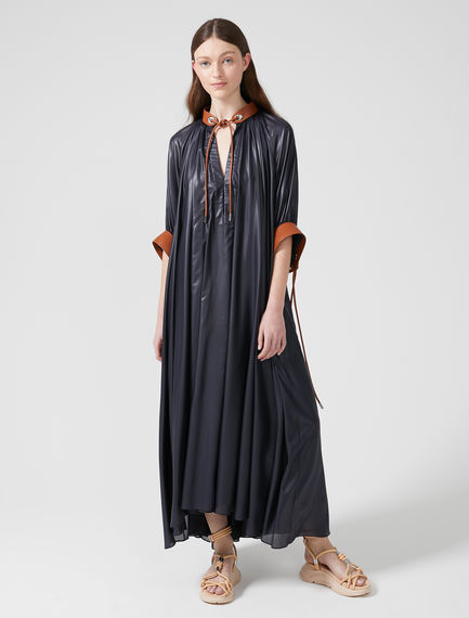 Ruffled Chiffon Maxi Dress Sportmax