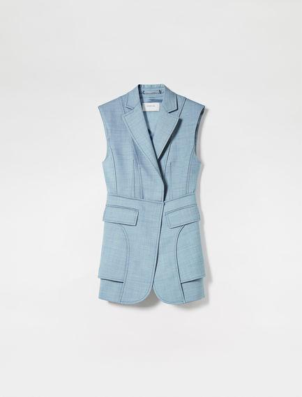 Tailored Wool Waistcoat