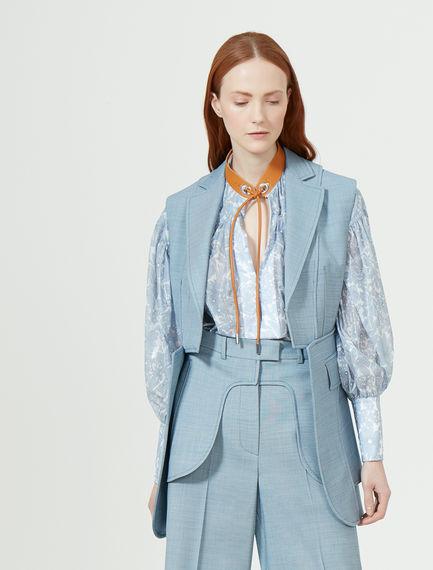 Tailored Wool Waistcoat Sportmax