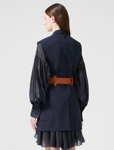 Deconstructed Sleeveless Jacket