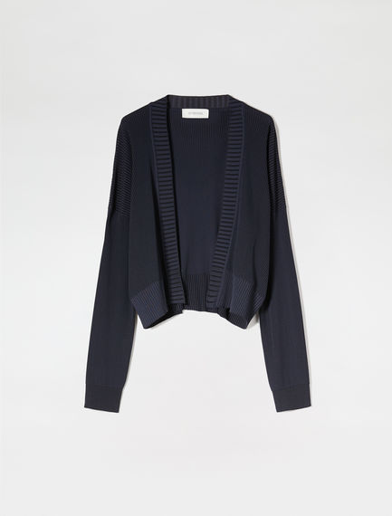 Cropped Viscose Cardigan Sportmax