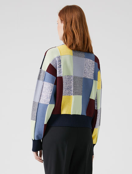 Patchwork Effect Sweater