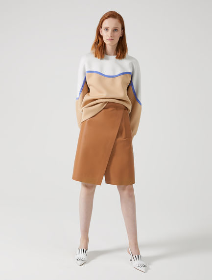 Gonna in nappa A-line Sportmax