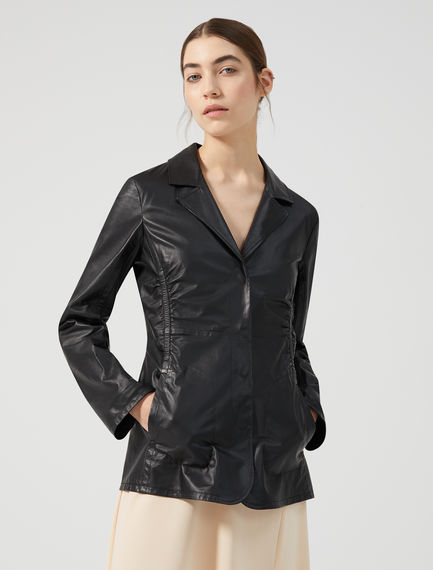 High-performance Nappa Leather Jacket Sportmax