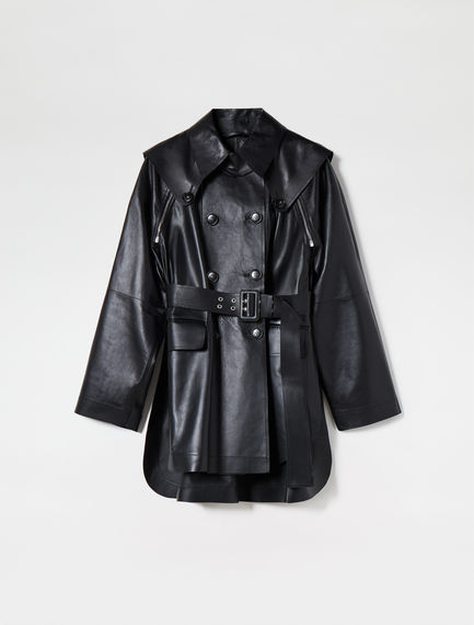 Transforming Nappa Leather Jacket